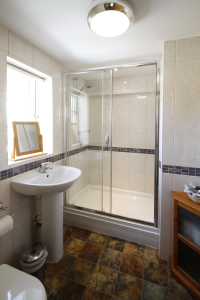 en suite in bed and breakfast room north yorkshire