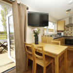 kitchen 2 bedroom lodge north yorkshire